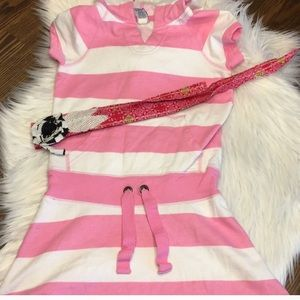 Girls striped Gap dress size 4-5